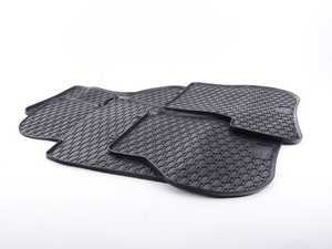 ES#3469736 - 110-053-001 - All-Weather Rubber Floor Mats - Set Of Four - Offers protection from the typical water, road salt, or tracked-in mud, to the unfortunate coffee spills and dropped snacks. - Bremmen Parts - Volkswagen