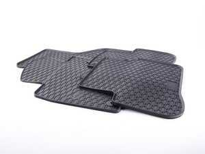 ES#3469739 - 110-053-002 - All-Weather Rubber Floor Mats - Set Of Four - Offers protection from the typical water, road salt, or tracked-in mud, to the unfortunate coffee spills and dropped snacks. - Bremmen Parts - Volkswagen