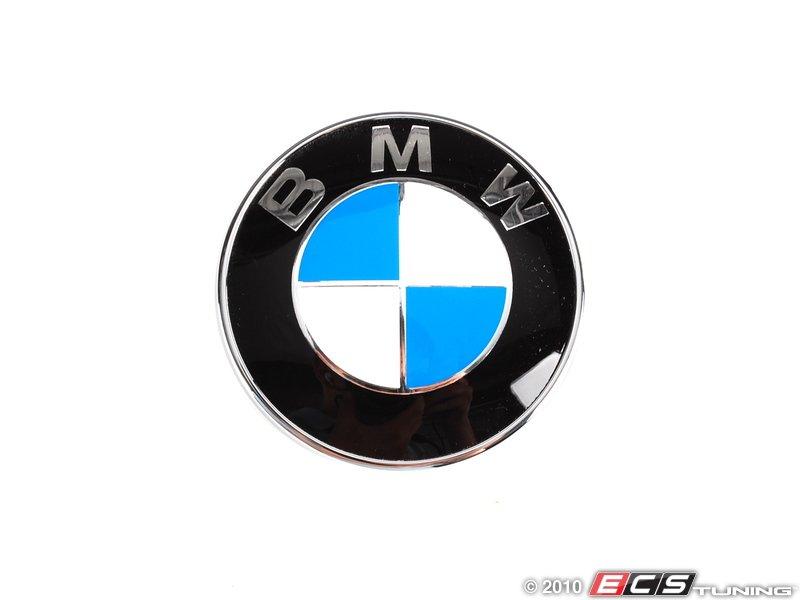 Genuine Bmw 51147146051 Bmw Emblem Roundel Trunk