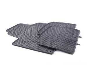 ES#3469735 - 110-046-003 - All-Weather Rubber Floor Mats - Set Of Four - Offers protection from the typical water, road salt, or tracked-in mud, to the unfortunate coffee spills and dropped snacks. - Bremmen Parts - Volkswagen