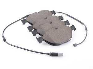 ES#3417842 - 34112449268 - Set Of Brake Pads With Wear Sensors - Genuine BMW - BMW