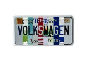 "ES#3233078 - DRG04115 - Volkswagen State Plate  - Inspired by past and present license plates of Michigan, Virgina and Tennessee. This sign measeures 8""w x 12""h. - Genuine Volkswagen Audi - Volkswagen"