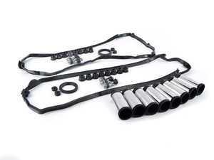 ES#3490889 - 11127513195KT1 -  Valve Cover Gasket kit - Includes both cylinder banks gaskets and spark plug tubes - Assembled By ECS - BMW