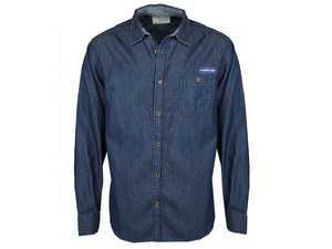 ES#3440348 - DRG001996DENXL - Denim Shirt - Extra Large - 100% cotton denim shirt, pre-washed for extra softness - Genuine Volkswagen Audi - Volkswagen