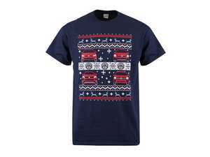 ES#3485922 - DRG003919NVYSM - Ugly Christmas T-Shirt - Small - Limited edition holiday shirt from VW - Genuine Volkswagen Audi - Volkswagen