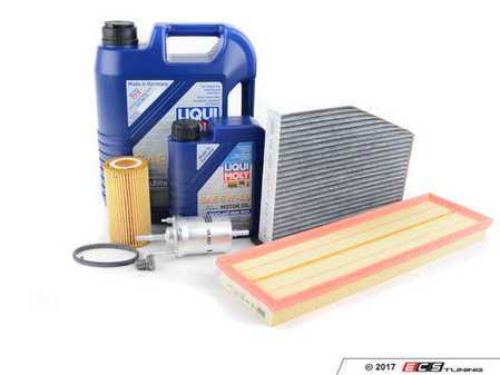 ES#2862353 - 2.560KOEMKT - 60K Service Kit - Featuring Liqui Moly High Tech 5w-40 engine oil and Hengst Filters - Assembled By ECS - Volkswagen