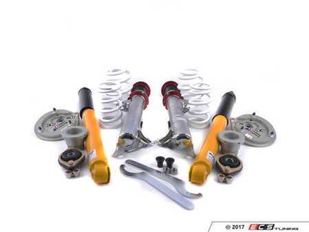 ES#4069946 - TCKE36DblKit - TC Kline Racing Double Adjustable Street/Track Coilover Kit - Lifetime warranty on street-driven cars! Featuring proprietary double-adjustable Koni dampers, front camber plates, and 400#F/500#R springs - TC Kline Racing - BMW