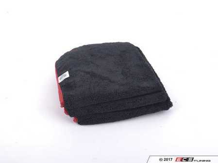 """ES#3450627 - MIC50803 - Premium Red-Line Microfiber Towels - (16"""" x 16"""") - 3 Pack - Extra soft premium quality towels with exclusive silk-banded edges to help prevent any swirls or scratches - Chemical Guys - Audi BMW Volkswagen Mercedes Benz MINI Porsche"""