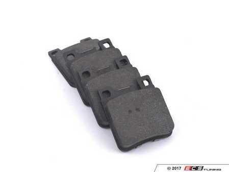 ES#2603102 - 0044209320 - Rear Brake Pad Set - Does not include new brake pad wear sensors - OP Parts - Mercedes Benz
