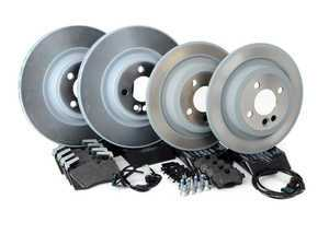 ES#2597656 - 34116855781KT12 - Front & Rear Brake Service Kit - JCW - All you need to replace your brake pads and rotors - Genuine MINI - MINI