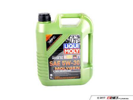 ES#3448135 - 20228 - Molygen New Generation Engine Oil (5w-30) - 5 Liter - Full synthetic oil with fluorescent, friction-reducing additive! - Liqui-Moly -