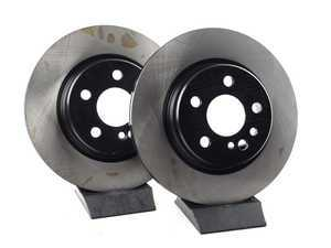 ES#2570091 - 140423041264KT1 - Rear Brake Rotors - Set Of Two - Does not include new rotor securing screws - OP Parts - Mercedes Benz