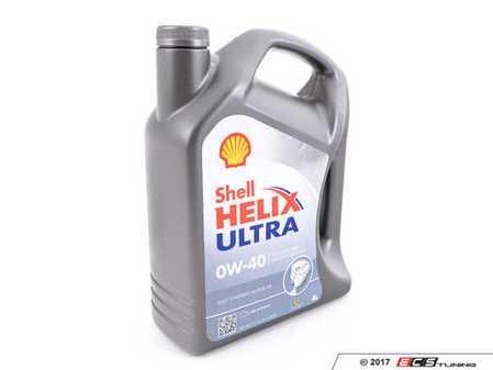 ES#3476096 - 550040759 - Helix Ultra (0W-40) Synthetic Engine Oil - 4 Liter - Meets most European car standards like VW/Audi 502.00 / 505.00 & MB 229.5 - Shell - Audi BMW Volkswagen Mercedes Benz MINI Porsche