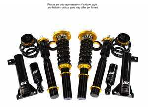 ES#3493641 - B018-S - ISC N1 Coilover Kit - Street Sport - A high quality, performance coilover kit at a low cost. Stiffer springs and street sport valving for aggressive street and occasional track use! - ISC Suspension - BMW