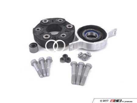 "ES#3234536 - 261175732761KT - Universal Flex Disc Kit - Includes ""Giubo"", center mount and hardware - Assembled By ECS - BMW"