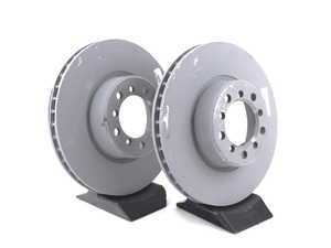 ES#2855978 - 1264210512KT1 -  Front Brake Rotors - Pair - Does not include new rotor securing screws - Genuine Mercedes Benz - Mercedes Benz