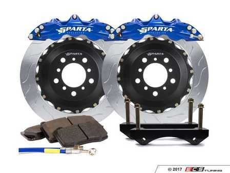 ES#3490881 - SPR.M1.3133 - Triton R Big Brake Kit - Front - Featuring Spartan Evolution's massive Triton R 6-Piston forged calipers and high quality 2-Piece rotors for the best braking performance possible on the track! - Sparta Evolution - BMW