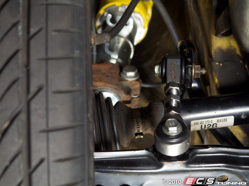 Polyurethane Suspension Bushings >> ECS News - MKIV Adjustable Sway Bar End Links