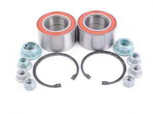 ES#3410490 - 1j0598625kt2KT - Rear Wheel Bearing Kit - Includes both rear wheel bearings with installation hardware - FAG - Audi Volkswagen
