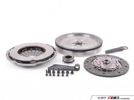 ES#250303 - 06a198002 -  Stage 1 Clutch Kit - Lightweight 228mm Single Mass Flywheel (20.5lbs.) - Great for daily driven, and mildly tuned cars holding up to 250 ft-lbs - ECS - Audi Volkswagen