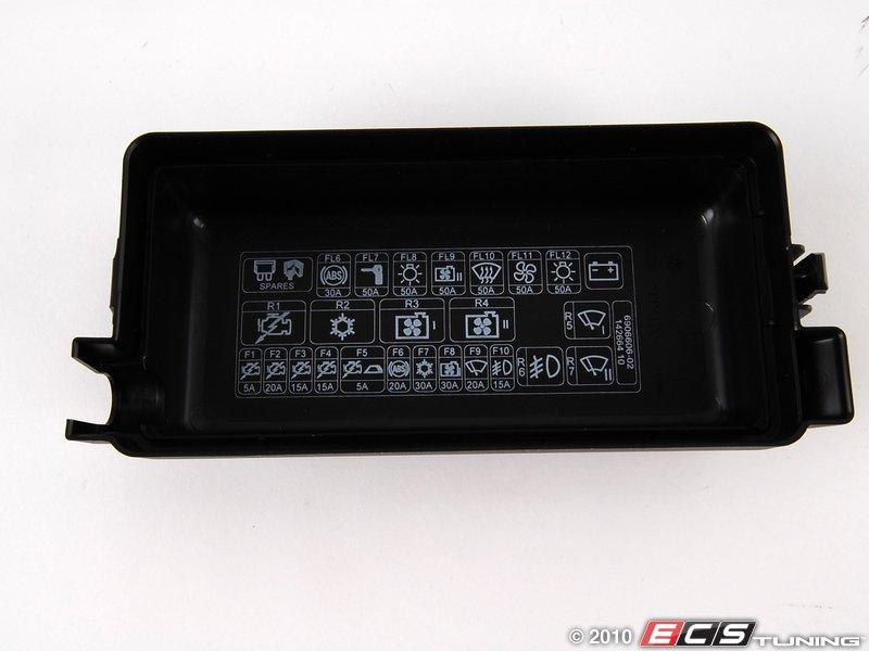 genuine mini - 61136906606 - fuse box cover
