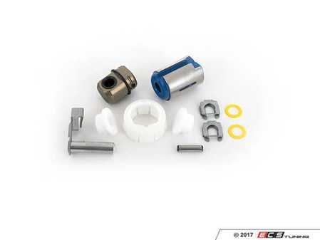 ES#2602969 - 25117507695KT3 - Shifter Rebuild & Upgrade Kit - Overhaul your shifter with this kit, featuring ECS Tuning teflon shifter bushings & Turner Motorsport poly shift arm bushing - Assembled By ECS - BMW