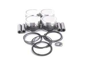 ES#2794029 - WIS18TK563M815 - Wiseco Performance Piston Set - Includes rings, wire locks, and wrist pins - 81.5mm bore, 9:1 CR, 86.4mm stroke (stock) - Wiseco - Audi Volkswagen