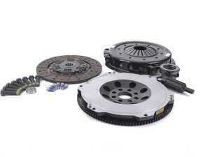 ES#3172569 - 000282ECS01KT2 -  Performance Flywheel & Performance Organic Clutch Kit - Improve throttle response, acceleration and clutch feel - the perfect setup for daily-driven and light track use vehicles, supporting up to 400hp - ECS - BMW