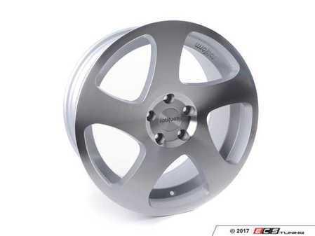 ES#3046124 - R13018954335 - 18x9.5 TMB 5x112 Machined Silver ET35 66.5 Left - Rotiform -