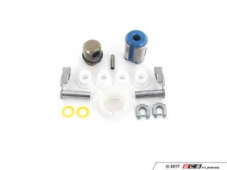 ES#2594076 - 23411466134KT2 - Shifter Rebuild & Upgrade Kit - Overhaul your shifter with this kit, featuring ECS Tuning teflon shifter bushings & Turner Motorsport poly shift arm bushing for a feeling better than new! The enthusiast rebuild! - Assembled By ECS - BMW