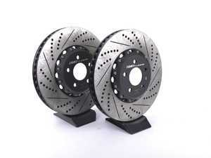 ES#3493799 - 023938ecs01KT - Front 2-Piece Brake Rotors - Pair (350x34) - Direct bolt-on replacement - 16% less weight! - ECS - Audi