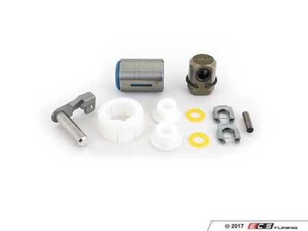 ES#2592733 - 25111469397KT - Shifter Rebuild & Upgrade Kit - Overhaul your shifter with this kit, featuring ECS Tuning teflon shifter bushings & Turner Motorsport poly shift arm bushing. The enthusiast rebuild! - Assembled By ECS - BMW