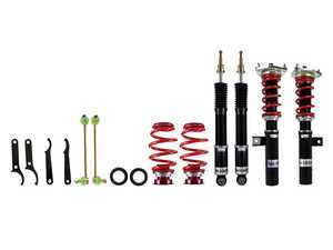 ES#3509769 - ped-160090 - Pedders eXtreme XA Coilover Kit - Fully threaded mono-tube bodies with 30-way adjustable damping - Pedders Suspension - Audi Volkswagen
