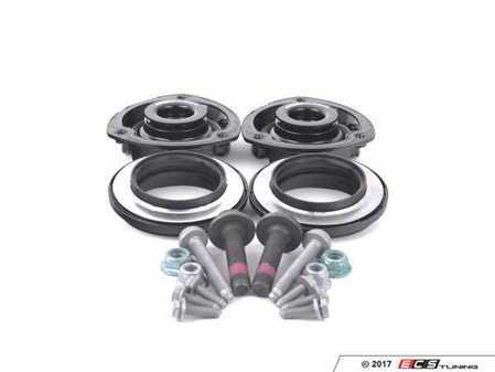 ES#3177913 - 5q0412331dKT3 - Upgraded Front Suspension Install Kit - Everything you need for a complete front suspension install - Featuring ECS upgraded upper strut mounts! - Assembled By ECS - Audi