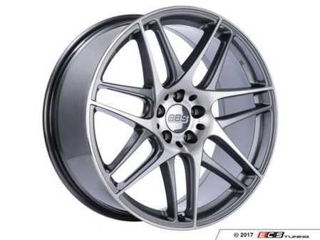 """ES#3514266 - cx001apkKT - 19"""" CX 001 Wheels - Square Set Of Four - 19x8.5 5x120 ET32 PFS in Gloss Anthracite with a diamond cut face. - BBS - BMW"""