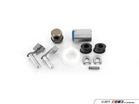 ES#3195006 - 25117528407z4KT2 - Shifter Rebuild & Upgrade Kit - Overhaul your shifter with this kit, featuring ECS Tuning Delrin shifter bushings & Turner Motorsport poly shift arm bushing - Assembled By ECS - BMW