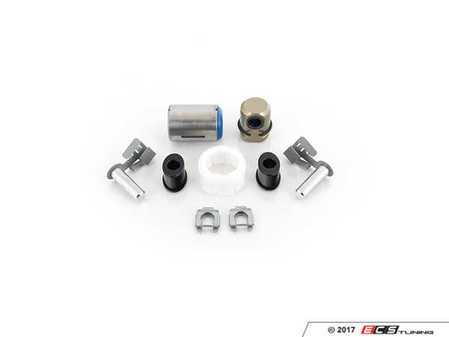 ES#3170126 - 25111434658KT3 - Shifter Rebuild & Upgrade Kit - Overhaul your shifter with this kit, featuring ECS Tuning Delrin shifter bushings & Turner Motorsport poly shift arm bushing - Assembled By ECS - BMW