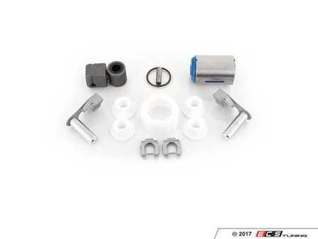 ES#2776580 - 25111221579KT2 - Shifter Rebuild & Upgrade Kit - Overhaul your shifter with this kit, featuring ECS Tuning teflon shifter bushings & Turner Motorsport poly shift arm bushing - Assembled By ECS - BMW