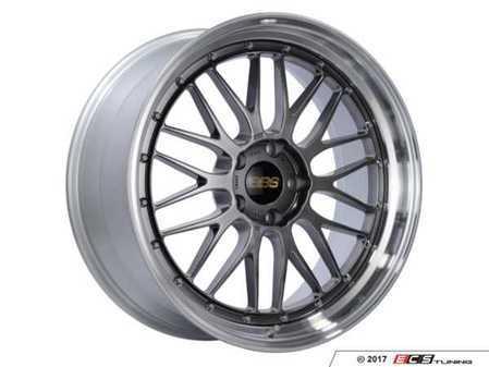 """ES#3514514 - lm283dbpkKT - 20"""" Style LM 283 Wheels - Black - Square Set Of Four - 20x9 5x120 ET20 PFS. Black center with a diamond cut lip. - BBS - BMW"""