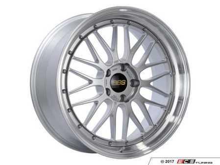 "ES#3514512 - lm283dspkKT - 20"" Style LM 283 Wheels - Silver - Square Set Of Four - 20x9 5x120 ET20 PFS. Diamond Silver center with a diamond cut lip. - BBS - BMW"