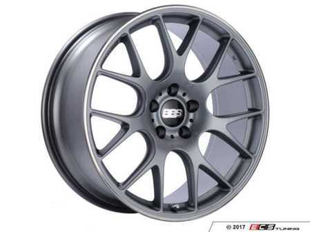 """ES#3514519 - ch100tipoKT - 20"""" Style CHR 100 Wheels - Square Set Of Four - 20x9 5x120 ET24 PFS in Satin Titanium with a polished rim protector. - BBS - BMW"""