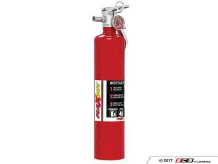 ES#3504986 - MX250R - MaxOut™ Dry Chemical Red Fire Extinguisher - 2.5 lb. - (NO LONGER AVAILABLE) - Protect your investment with a fire extinguisher that attacks fires involving flammable liquids quickly and safely, with no danger of electric shock. - H3R Performance - Audi BMW Volkswagen Mercedes Benz MINI Porsche