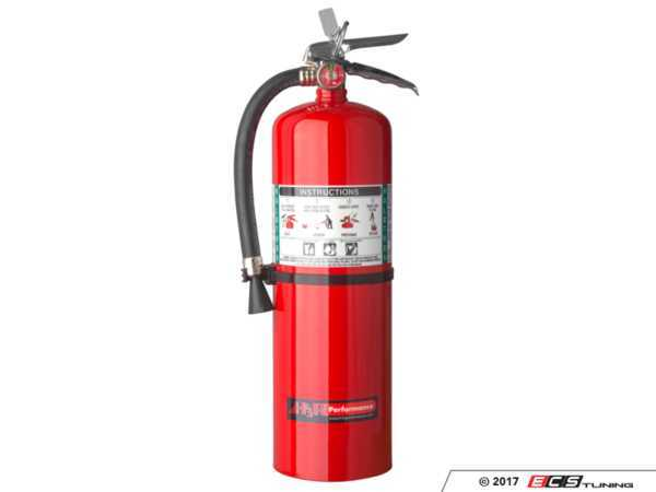 ES#3504972 - HG1100R - HalGuard™ Clean Agent Red Fire Extinguisher - 11 lb. - Protect your investment with a fire extinguisher that attacks fires involving flammable liquids quickly and safely, with no danger of electric shock, and without leaving a damaging residue to clean up. - H3R Performance - Audi BMW Volkswagen Mercedes Benz MINI Porsche