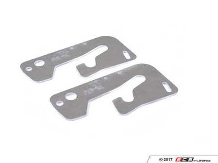 ES#3470514 - 731 - Aluminium hood latch plate - pair - (NO LONGER AVAILABLE) - lightweight aluminum hood latch set to replace factory steel latches - EPYTEC -