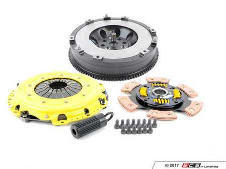 ES#3438746 - bm8-hdg6KT - Heavy Duty Sprung 6-Pad Racing Clutch Kit With XACT Streetlite Flywheel - Perfect for high performance street and road racing demands. Conservatively rated up to 565 ft/lbs torque capacity. - ACT - BMW