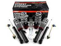 ES#3521562 - 021545ecs01KT -  ECS Street Coilover System  - Take control of your ride while going low with our sport-tuned coilover system! - ECS - Audi Volkswagen