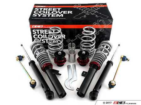 ES#3178076 - 021545ECS01A -  ECS Street Coilover System  - Take control of your ride while going low with our sport-tuned coilover system! - ECS - Volkswagen