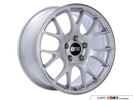 """ES#3514817 - chspo18sKT - 18"""" Style CH Wheels - Staggered Set Of Four - 18x8 ET40 and 18x9 ET44 5x120 PFS in Brilliant Silver with a polished stainless lip. - BBS - BMW"""