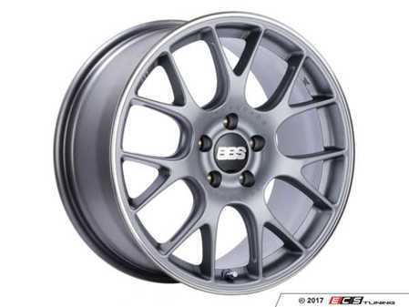 """ES#3514820 - chtipo18sKT - 18"""" Style CH Wheels - Staggered Set Of Four - 18x8 ET40 and 18x9 ET44 5x120 PFS in Titanium with a poilshed lip. - BBS - BMW"""