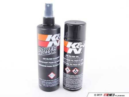ES#3470 - 99-5000 - K&N Air Filter Recharge Kit - Aerosol - Preserve & maintain your air filter for a lifetime like it was designed to use - K&N - Audi BMW Volkswagen Mercedes Benz MINI Porsche